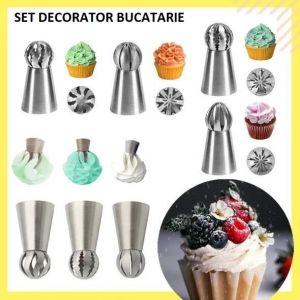 Set decorator prajituri 9pc/set