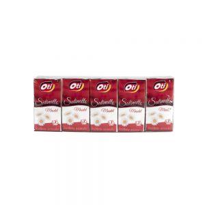 Batiste nazale  Satinatto 3 straturi, 10 pach./set parfumate