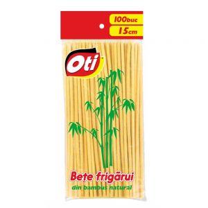 Bete frigarui bambus OTI  15 cm, 30 mm 100 buc/pachet