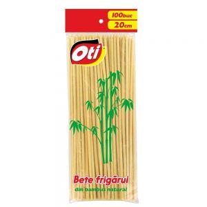 Bete frigarui bambus OTI 20 cm,3 mm 100 buc/pachet