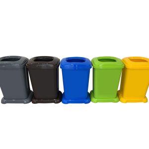 Cos de gunoi colectare selectiva ECO - BIN 50 Litri - Hobby Life - 01 1510