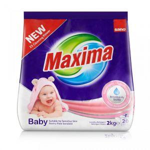 Detergent pudra Sano Maxima Baby (20sp) 2kg