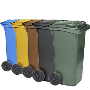 PUBELA , EUROPUBELA  colectare selectiva din plastic 120 Litri- Nap