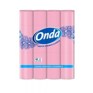 Hartie  Igienica Onda  2 straturi, 40 role OTI