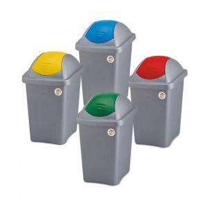 Cos gunoi MULTIPAT 60 L (galben, albastru rosu sau verde) SP-70155