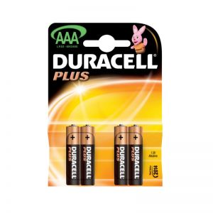 Baterii AAA LR03 1.5V Alcaline 4 bucati Duracell