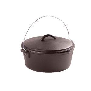 Ceaun din fonta cu capac 3,8 litri