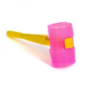 Ciocan plastic cu fluier Hubby