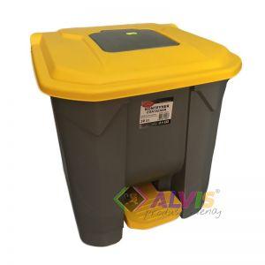 Cos gunoi, container cu pedala  50 Litri Planet  UP-208