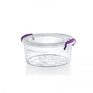 Cutie rotunda din plastic 1200 ml Hobby 021142