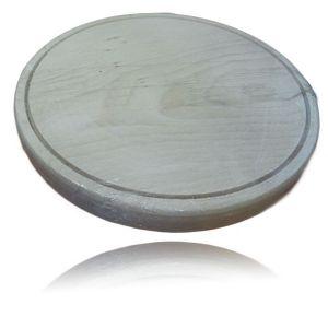 Planseta rotunda din lemn de 29 cm