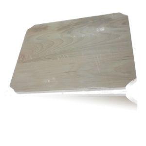 Planseta din lemn de fag 20 x 15 cm