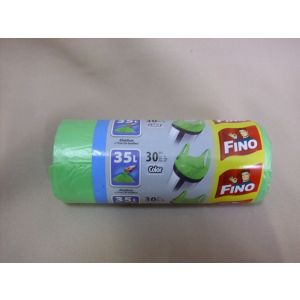 Saci menajeri cu maner FINO 35 L/30 buc rola