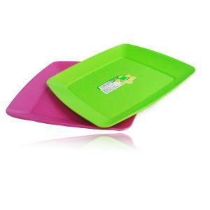 Farfurie patrata medie din plastic Hobby 03 1290