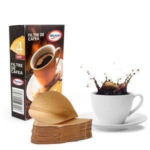 Hartie filtru cafea  nr.4  100 buc/cutie