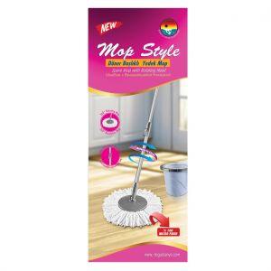 Set mop de rezerva pentru găleata spin mop rotativ microfibra