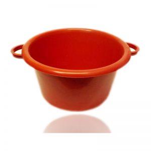 Lighean plastic rotund cu manere 7.5 litri