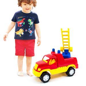 Masina de pompieri super cu scarita 8-202