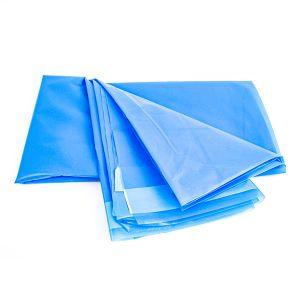Perdea de dus albastra 180 x 180 cm