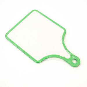 Planseta Taietor plastic cu maner, rama verde 30x19 cm