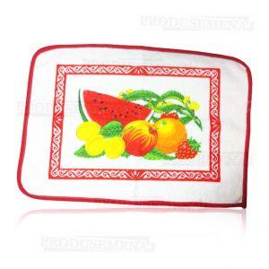 Prosop bucatarie cu model fructe