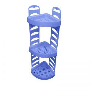 Raft din plastic pe colt pentru baie BA-205 Bambino