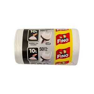 Saci menajeri FINO 10 Litri - 50 buc. color