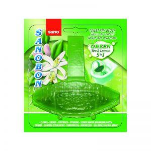 Odorizant toaleta Sanobon Green Tea & Lemon
