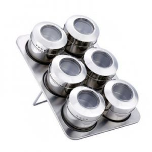 Set condimente cu suport magnetic Peterhof PH12789
