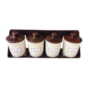 Set condimente si bucatarie din plastic NAP