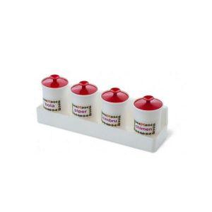 Set condimente mic din plastic Nap