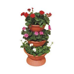 Suport flori piramida mijlociu