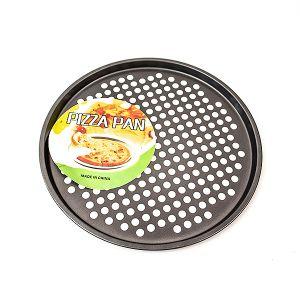 Tava Pizza teflonata cu gauri 33 x 1,2 cm