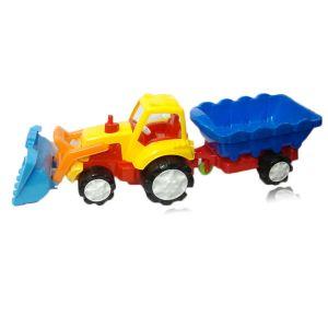 Tractor de jucarie super cu remorca 2-457