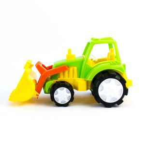 Tractor de jucarie cu cupa