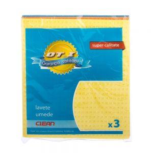 Lavete umede OTI 3 buc/set 18x20 cm