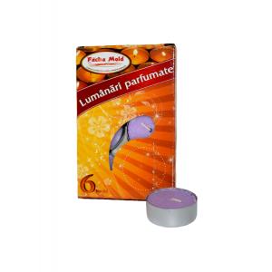 Lumanari parfumate 6 buc/set  Lavanda Mis