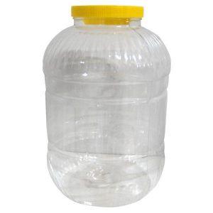Pet din plastic de 5 Litri cu capac