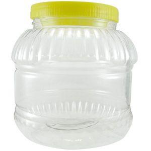 Pet din plastic de 2 Litri cu capac