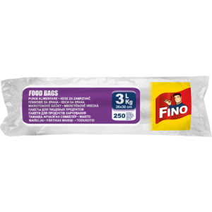 Pungi alimentare 3 KG /250 buc set FINO
