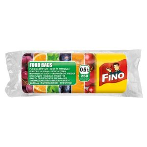 Pungi alimentare  0,5 L ,250 buc/rola   FINO