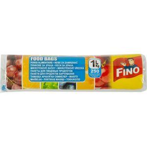 Pungi alimentare 1L, 250 buc/rola  FINO