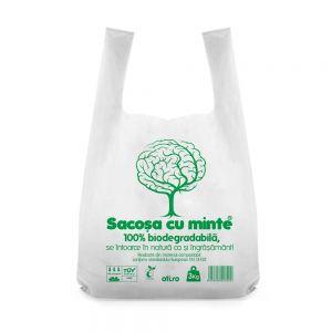 Pungi biodegradabile  standard Oti Green 36x40cm 3kg  50 buc./set