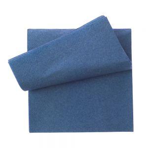 Servetel 33x33 cm albastru 2 straturi, 250 buc./pachet OTI