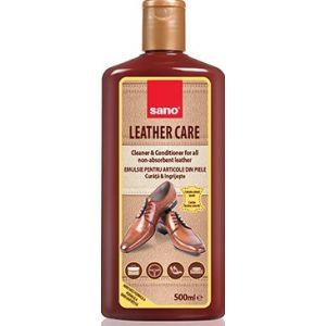 Solutie intretinere piele Sano Leather Care 500 ml