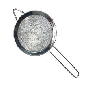 Strecuratoare inox cu maner 18 cm