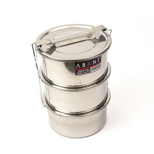 Sufertas Inox Nr 1 - 12 x 6 - 600 ml x 3 compartimente - SAF