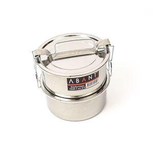 Sufertas Inox Nr 1 - 12 x 6 - 600 ml x 2 compartimente - SAF