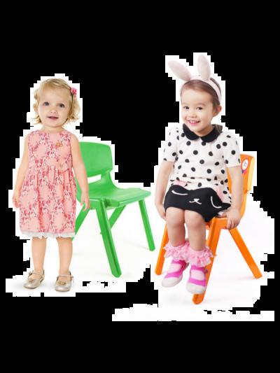 Scaune de plastic pentru copii, ideale pentru grădiniţe
